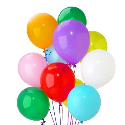 Melt Color Balloons - FromYouFlowers.pk