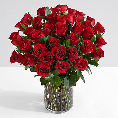 Delivery of Cherished Red Roses in Pakistan - FromYouFlowers.pk