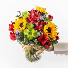 Delivery of Best Wishes Bouquet in Pakistan on Birthday - FromYouFlowers.pk