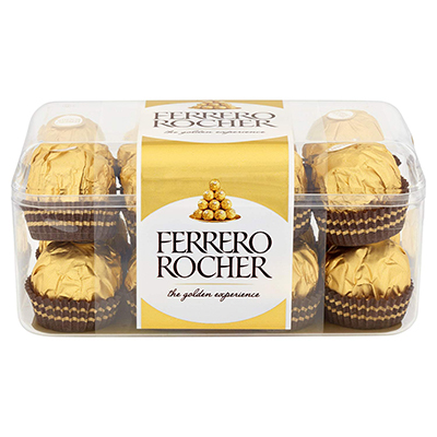 Delivery of Ferrero Rochers Box in Pakistan