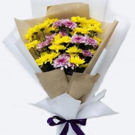 Yellow Flowers Bouquet - FromYouFlowers.pk