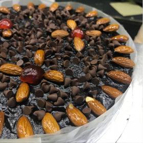 send Almond Chocolate Cake in Karachi - FromYouFlowers.pk