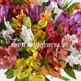 Burst Lilies c - FromYouFlowers.pk
