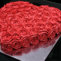 send Heart for My Love cake in Pakistan on birthday - FromYouFlowers.pk