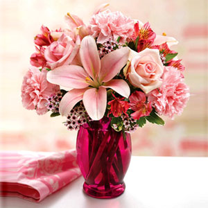Delivery of Pure Pink Love in Pakistan