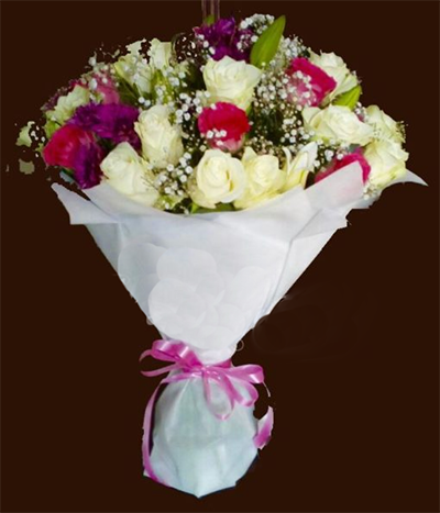 Flower Bouquet online - FromYouFlowers.pk