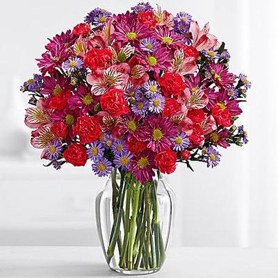 Multi Color Flowers - FromYouFlowers.pk
