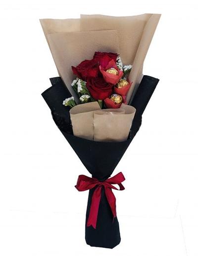 Valentine Bouquet Online - FromYouFlowers.pk