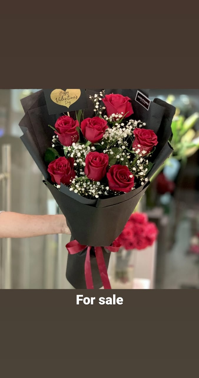 Red Roses for Valentine - FromYouFlowers.pk