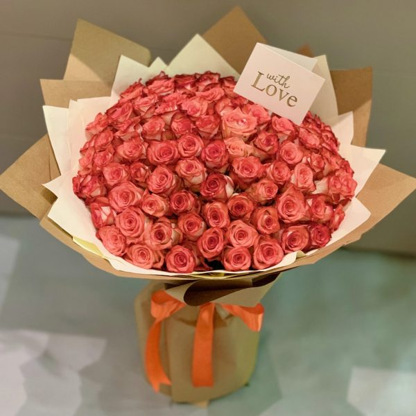 Order Pink Roses in Pakistan - FromYouFlowers.pk