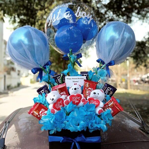 Send Its a Boy Flowers- FromYouFlowers.pk