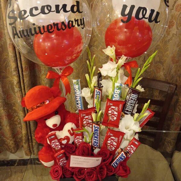 Send Anniversary Gift - FromYouFlowers.pk